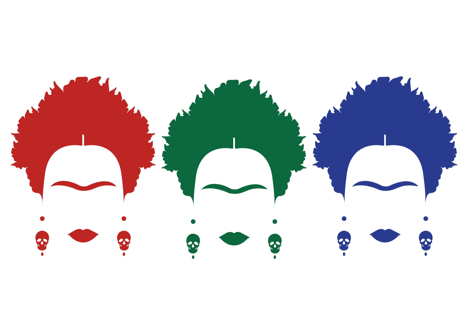 Imagenes De Frida Kahlo Animada Para Colorear: Dibujos De Frida Kahlo Animados