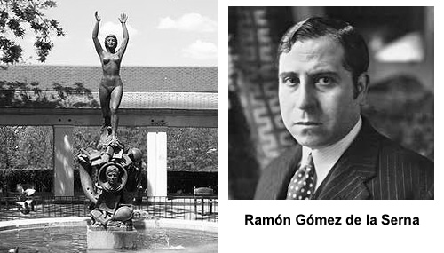 Ramón Gómez de la Serna en la literaria