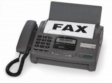 send picture to fax machine