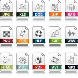 Formatos de archivos (digital)
