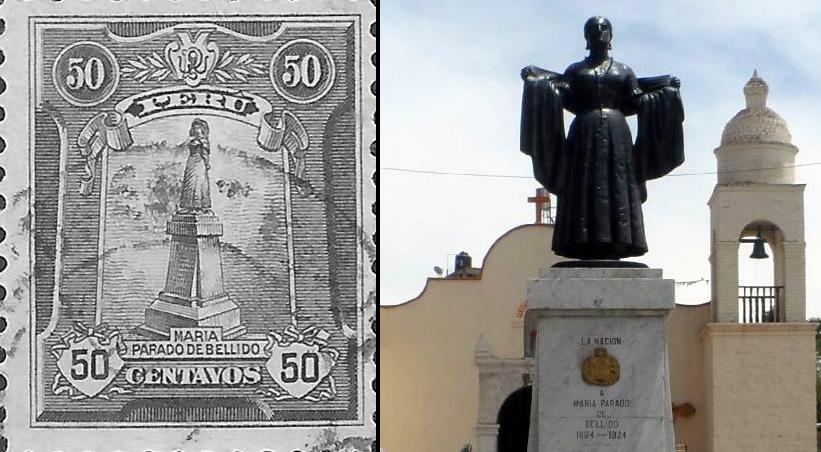 María Parado de Bellido por la Independencia del Perú