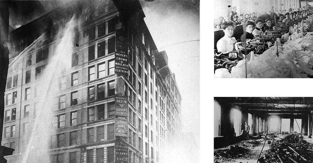 tragedia de 1911 que da origen al Día de la Mujer
